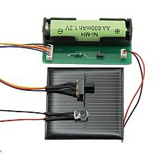 Комплект за слънчево акумулиращо осветление