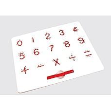 Магнитна графомотрна дъска Числата - Приобщаващо образование_
