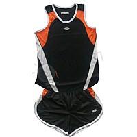 Баскетболен екип - детски - бяло и оранжево