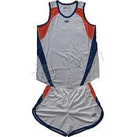 Баскетболен екип - детски - синьо и оранжево