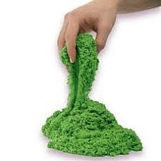 Кинетичен пясък Зелен - 500гр.
