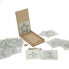 Кутия за рисуване с пясък