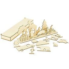 Град на предлозите - Дървена игра за речево развитие