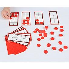 Числови рамки до 10 и броилки - групов комплект