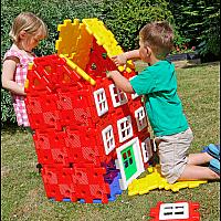 Polydron Гигантски комплект Строителство на къща