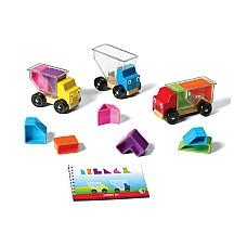 Камионче с форми - детска логическа игра