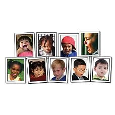Израженията на лицето - обучителни карти