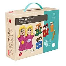 Комплект за театър с кукли Емоции