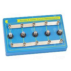 Последователна и успоредна електрическа верига - демонстрационен комплект