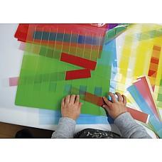 Голям комплект за тъкане Цветови нюанси