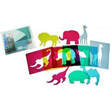 Шаблони Зоопарк полупрозрачни