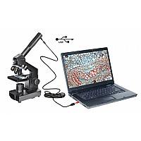 Микроскоп National Geographic 40x-1024x с USB и куфар
