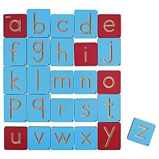 Графомоторен комплект дървени букви 26 бр