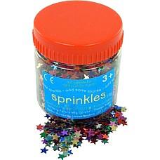 Звездички разноцветни конфети