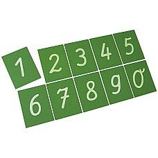 Опесъчени грапави цифри