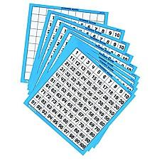 Ламиниранo таблo с числата до 100